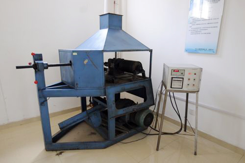 Roller friction test rig