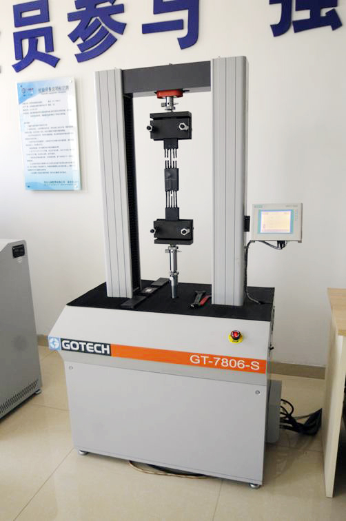 The wire rope fatigue test machine