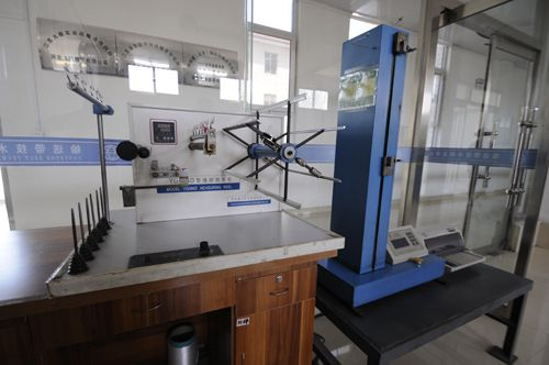 Electronic single yarn strength machine